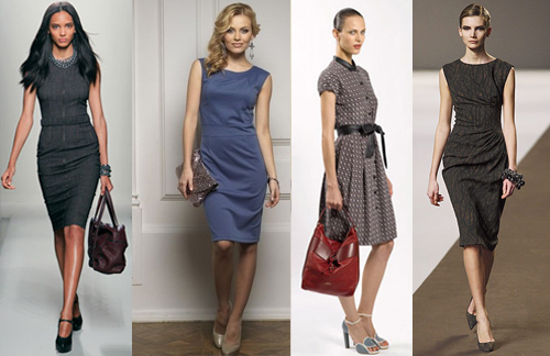 цвета делового платья