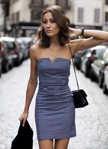 Как подчеркнуть фигуру с помощью платья - декольтированнеы платья