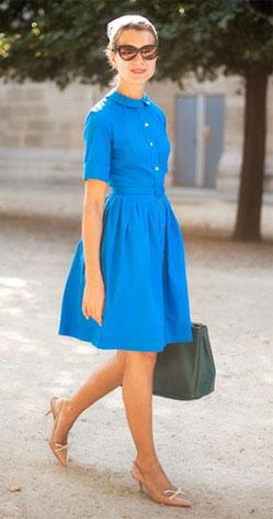 Как подчеркнуть фигуру с помощью платья - Платье в стиле 50-х