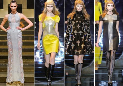 Коллекция платьев Versace 2012-2013