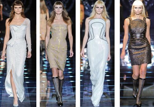 платья Versace 2012-2013