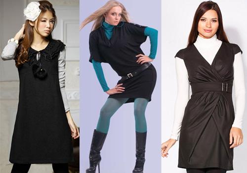 как носить платье без рукавов