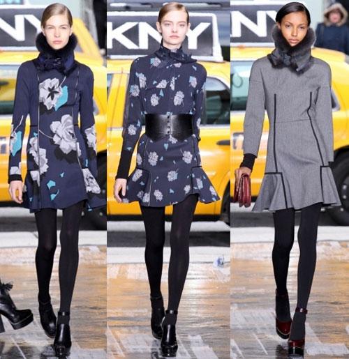 Зимние трикотажные платья 2013, Бренд: DKNY