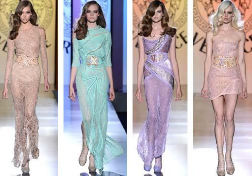 Модные платья Versace 2013