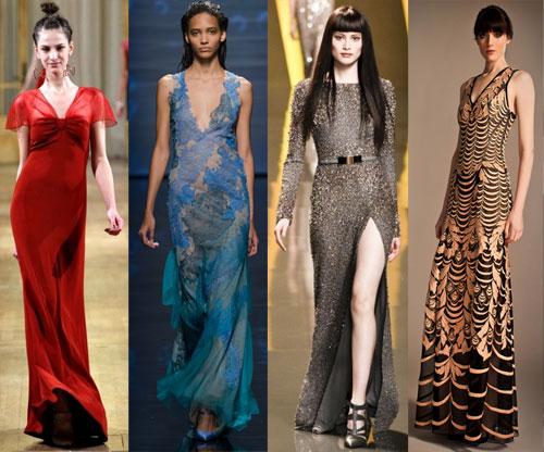 Как выбрать цвет вечернего платья по цветотипу