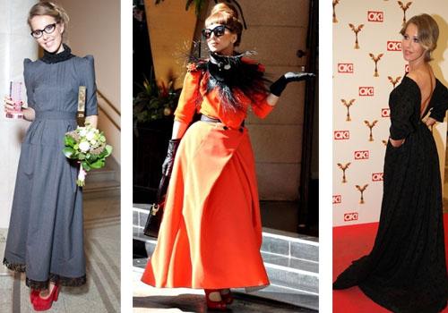 Леди Гага в платьях Ульяны Серьгиенко