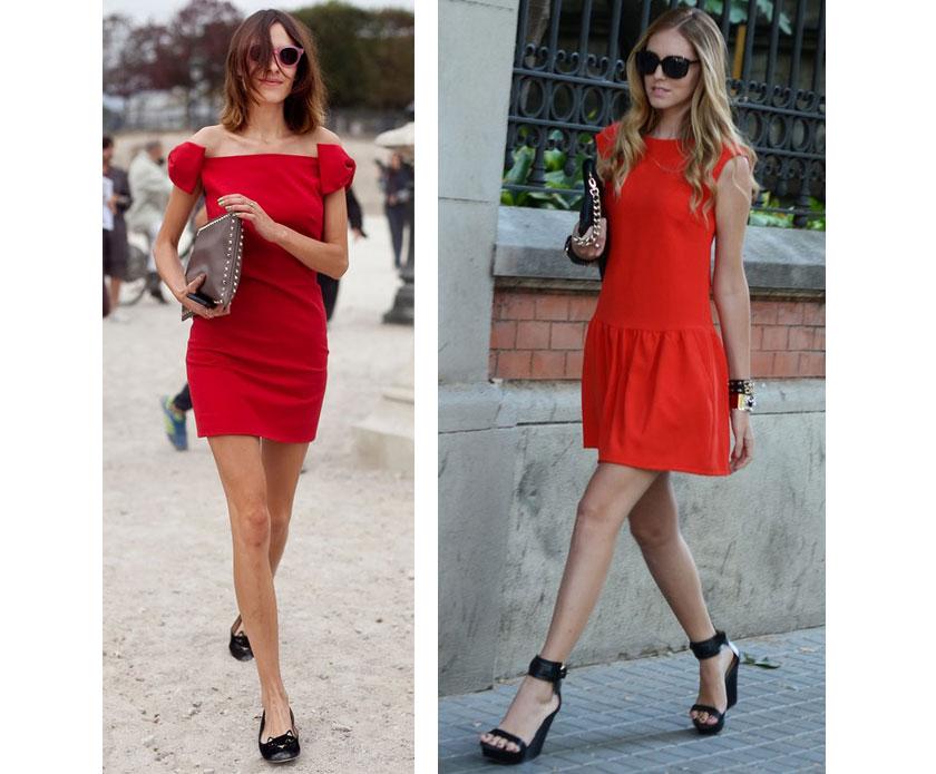 С чем сочетать красное платье: идеи и советы
