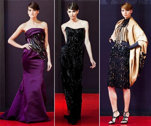 Вечерние платья от Валентина Юдашкина 2013
