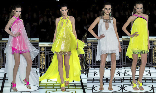 Неделя высокой моды в Париже (день 1) Versace
