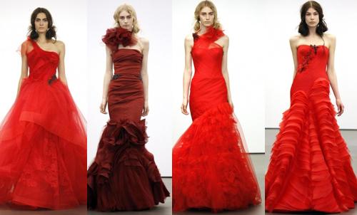 Самые красивые свадебные платья 2013 Vera Wang
