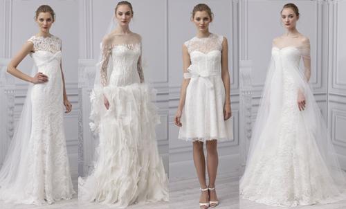 Красивые свадебные платья 2013 Monique Lhuillie