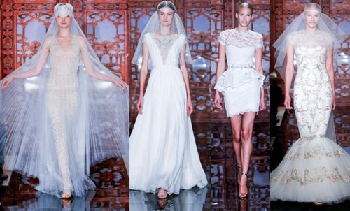 Самые красивые свадебные платья 2013 Reem Acra