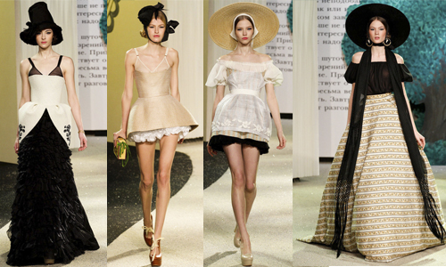 Неделя высокой моды в Париже (день 2) Ульяна Сергеенко