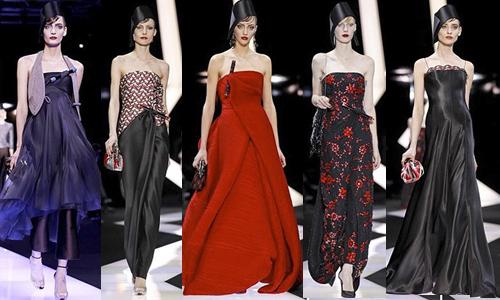 Неделя высокой моды в Париже (день 2) Giorgio Armani Prive