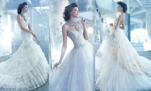 Модные коллекции свадебных платьев 2013 от Lazaro