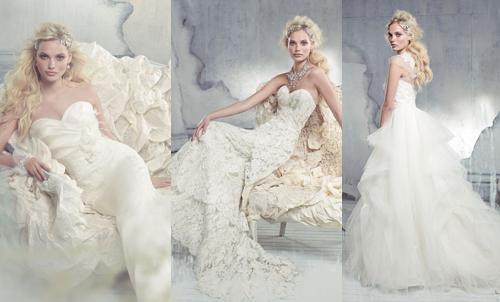 Модные коллекции свадебных платьев 2013 от Alvina Valenta