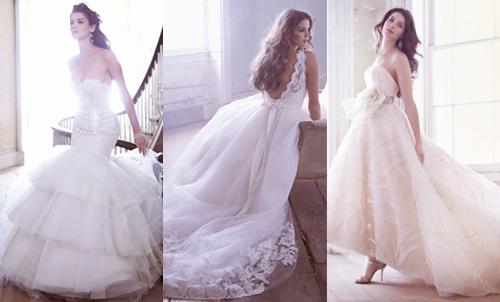 Модные коллекции свадебных платьев 2013 от Jim Hjelm