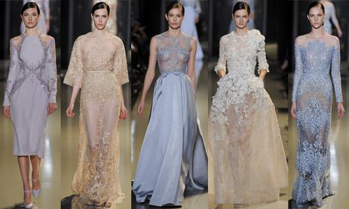 Неделя высокой моды в Париже (день 3) Elie Saab