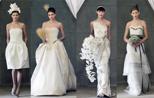 Модные свадебные платья 2013 от Carolina Herrera