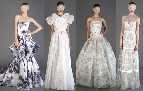 Модные свадебные платья 2013 от Douglas Hannant