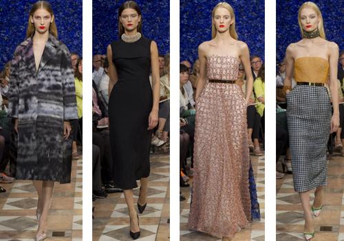 Женские платья Christian Dior 2013