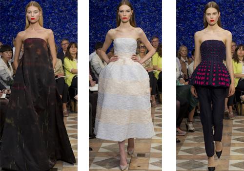 платья Christian Dior 2013