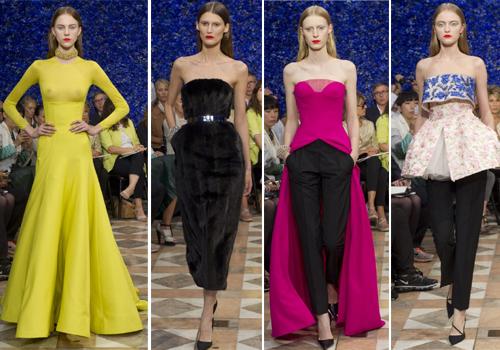 коктейльные платья Christian Dior 2013