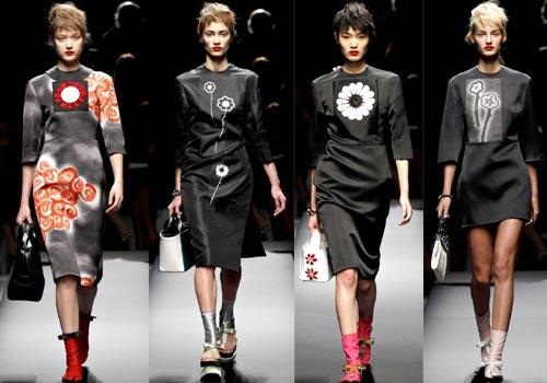 Повседневные платья от Prada