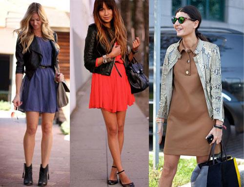 С чем носить платья этой весной