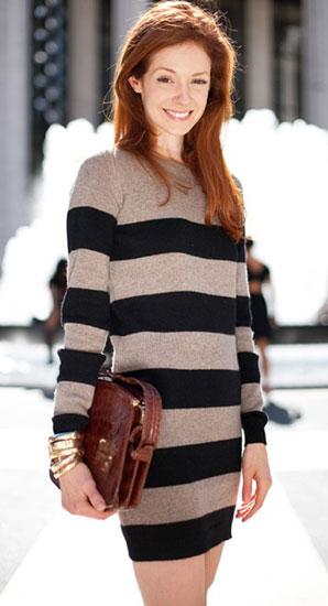 аксессуары для платья-свитера