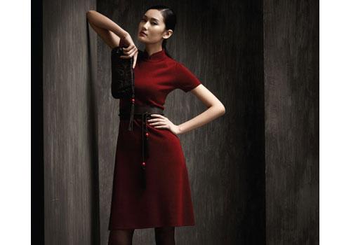 С чем носить шерстяное платье