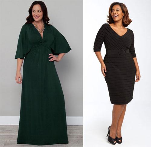 Выбор вечернего платья для женщин за 50