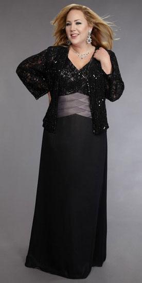 Как выбрать вечернее платье для женщины за 50