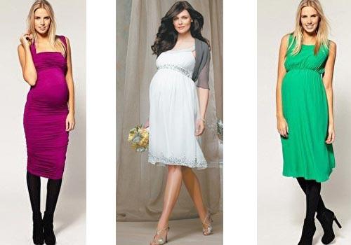 Красивая платья для беременных фото