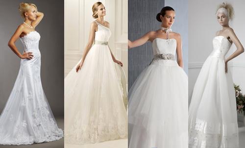 Свадебные платья для типа фигуры груша