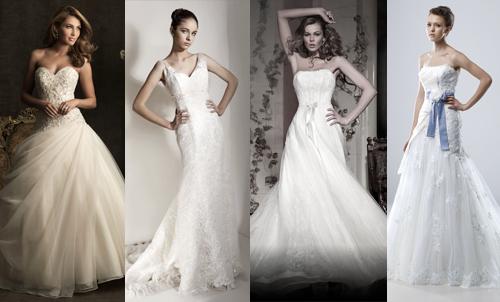Свадебные платья для типа фигуры песочные часы