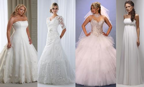 Свадебные платья для типа фигуры яблоко
