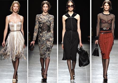 летние платья Bottega Veneta