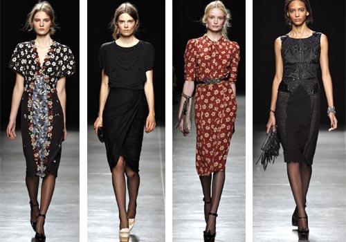 коллекция платьев Bottega Veneta