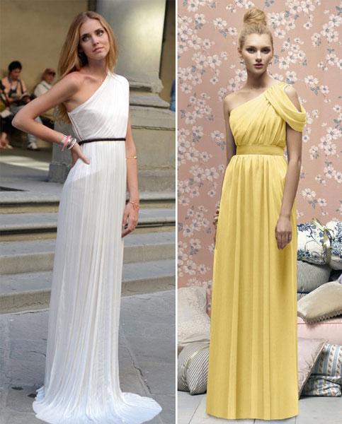 Образ для греческого платья