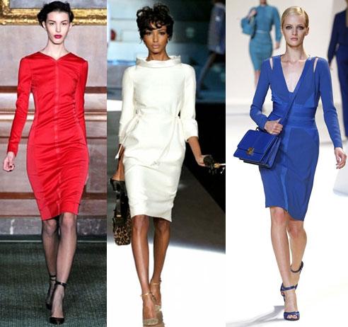 Популярные модели повседневных платьев