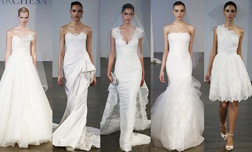свадебная мода 2014 Marchesa