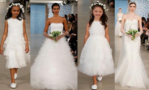 свадебная мода 2014 Oscar de la Renta