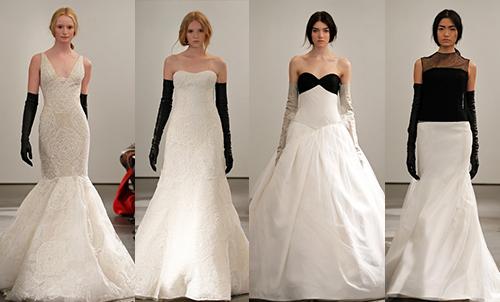 свадебная мода 2014 Vera Wang