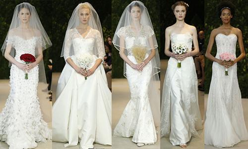свадебная мода 2014 Carolina Herrera