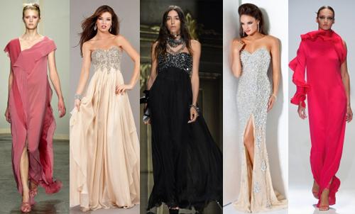 Модные платья на выпускной 2013