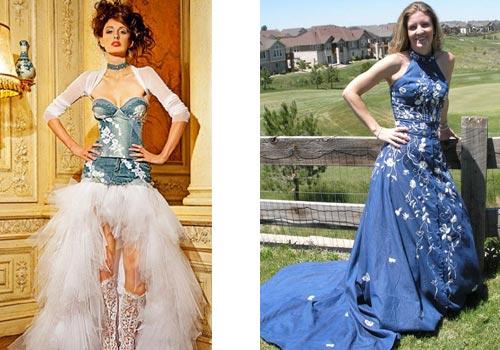 Аксессуары к джинсовому платью