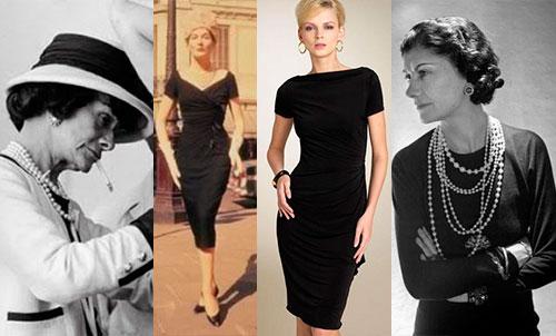 Коко Шанель и ее маленькое черное платье