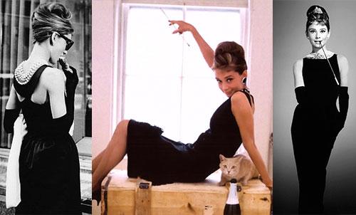 Наряд Одри Хепберн для фильма «Завтрак у Тиффани»