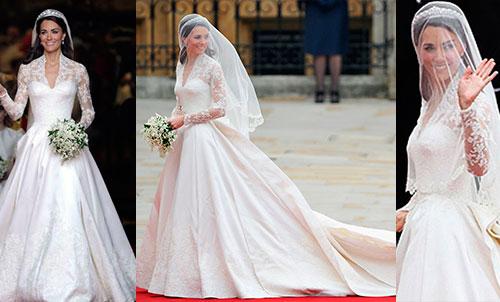 Кейт Миддлтон и ее свадебное платье